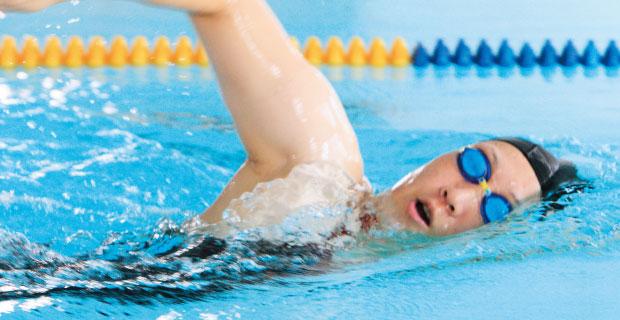 水泳教室中級コース