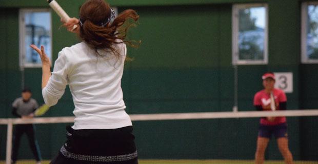 中上級テニス教室